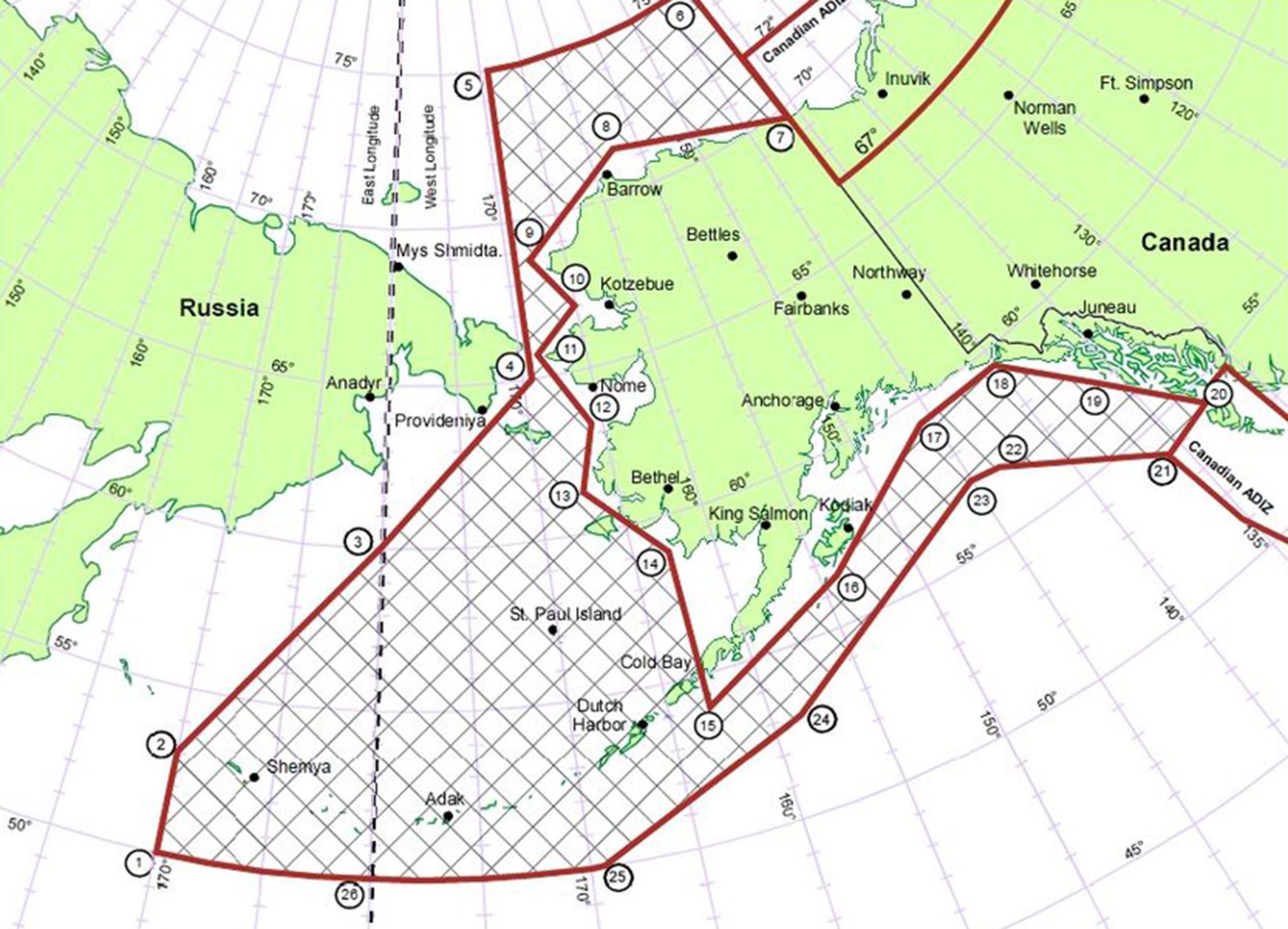 air-defense-zone 1950